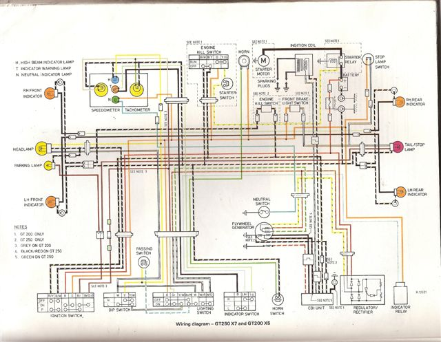 X7 X5 Wiring Diagram yamaha sr500 & sr400 forum \u2022 view topic what to do with old bikes? sr400 wiring diagram at honlapkeszites.co